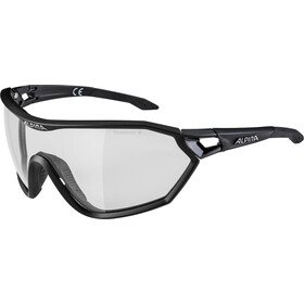 Alpina S-Way L VL+ Occhiali, black matt